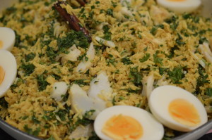 Kedgeree finished